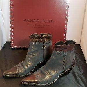 Donald J Pliner Western bootie